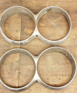 1964-1965 THUNDERBIRD headlight bezels (set L+R)