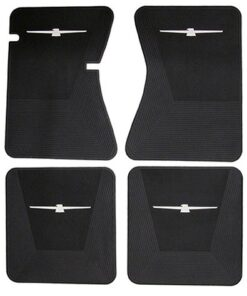 1964 - 1966 Thunderbird rubber floor mats set of 4