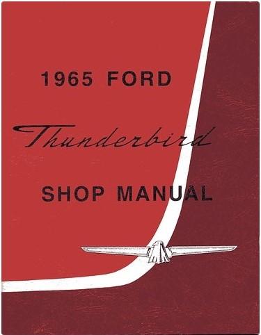 1965 Thunderbird Shop Manual
